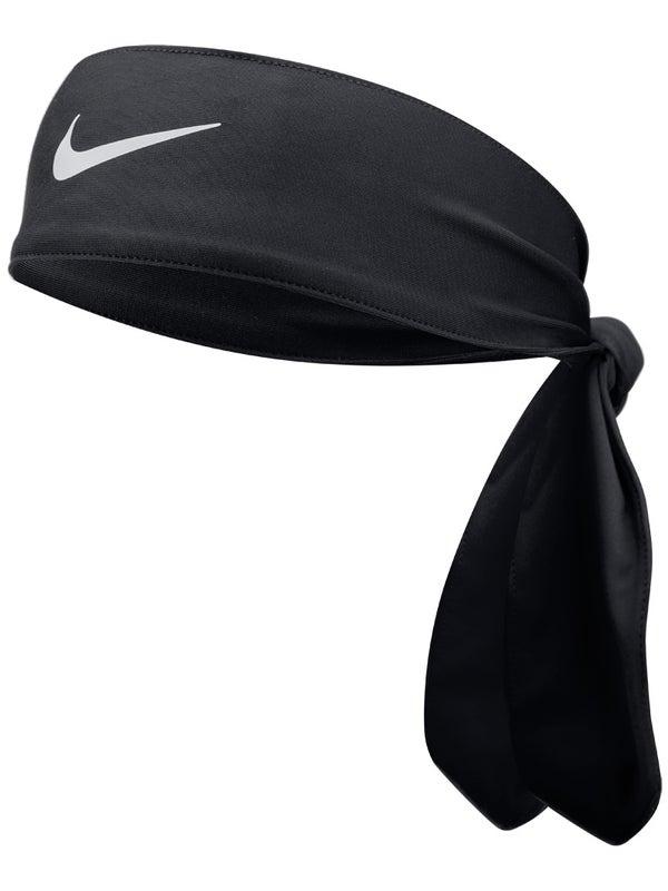 Inmigración Pedir prestado Faringe  Nike Dri-Fit Head Tie 3.0 Black/White