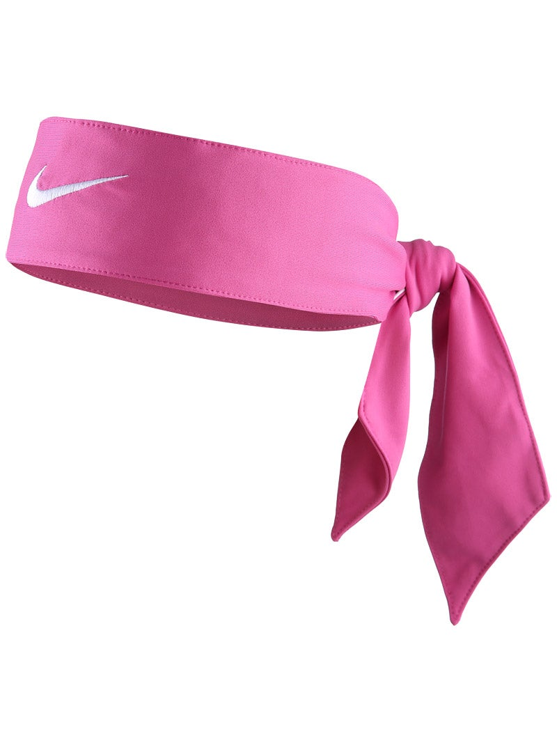 nike tie pink white