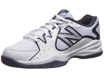 New Balance 786 White/Navy Junior Shoe