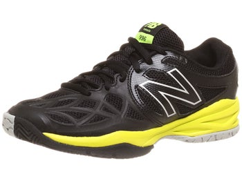 New Balance 996 Black/Yellow Junior Shoe