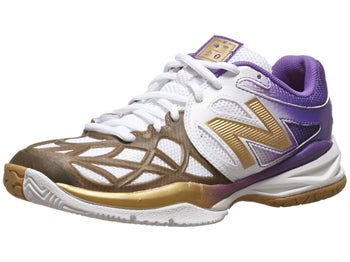 New Balance 996 Purple/Gold Junior Shoe