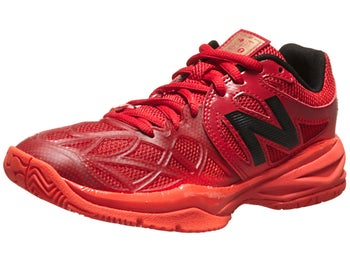 New Balance 996 Red/Black Junior Shoe