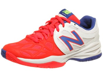 New Balance 996 White/Pink Junior Shoe