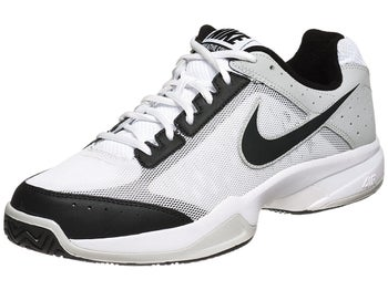 Nike Cage Court Wh/Bk/Gy Junior Shoe
