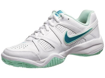 Nike City Court 7 White/Tropical Teal Junior Shoe
