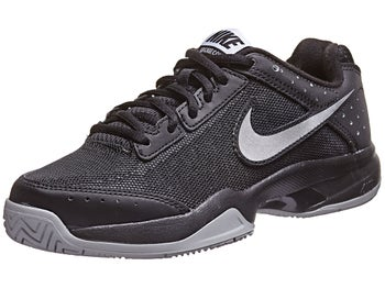 Nike Cage Court Black/Silver Junior Shoe