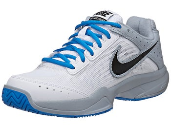 Nike Cage Court White/Grey Junior Shoe