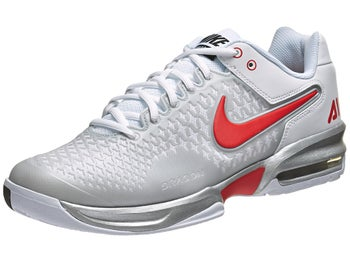 Nike Air Max Cage Silver/Wh/Lt Crimson Men's Shoe