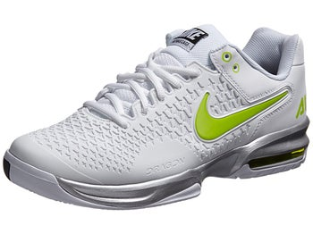 Nike Air Max Cage White/Silver/Venom Green Men's Shoe