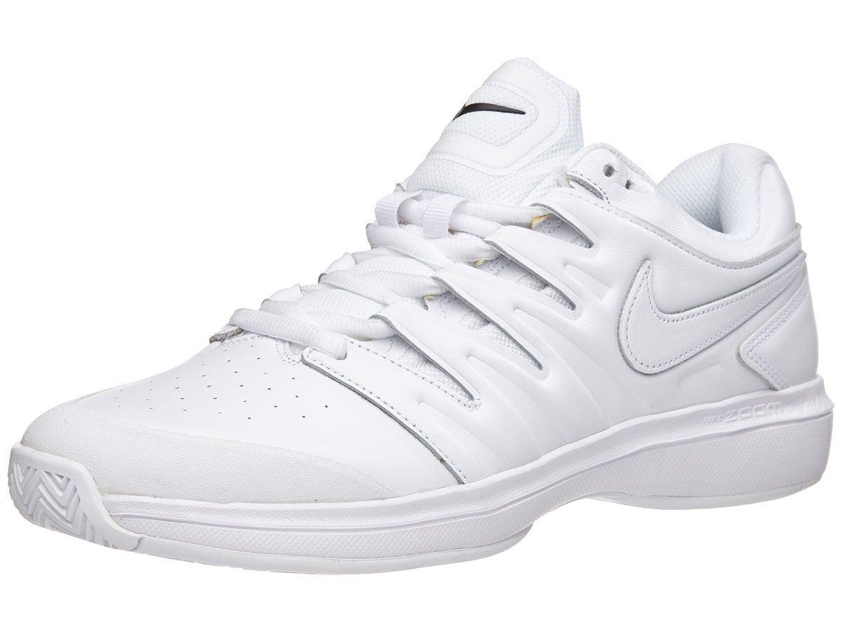 Nike Air Zoom Prestige Leather White Men S Shoe