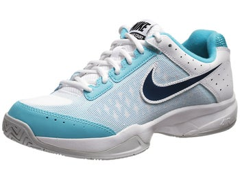 Nike Cage Court White/Gamma Blue/Navy Men's Shoe