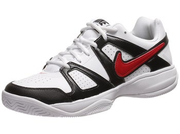 Nike City Court VII White/Black/Red Men's Shoe