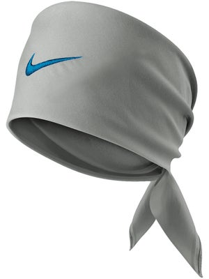 Nike Men's Fall Tennis Swoosh Bandana Grey