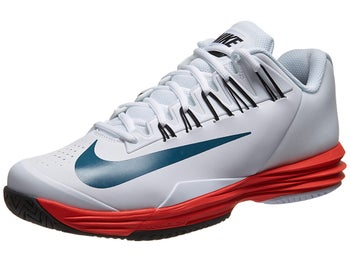 Nike Lunar Ballistec White/Lt Crimson Men's Shoe