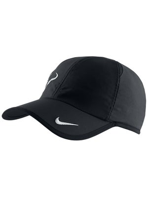 Nike Mens Rafa Bull Featherlight Hat Black/White