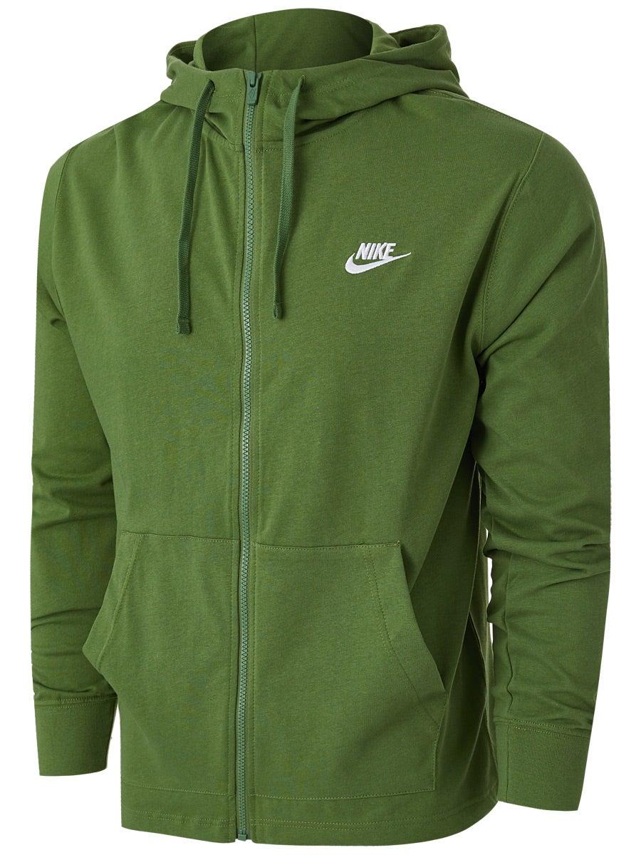 Nike Mens Team Club Full Zip Hoodie