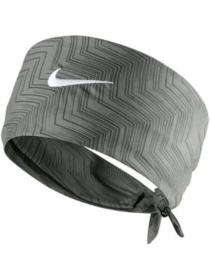 Nike Men's Summer Hero Print Bandana Base Grey