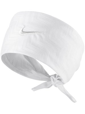 Nike Men's Summer Hero Print Bandana White