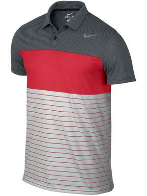 Nike Men's Summer Dri-Fit Touch Stripe Polo