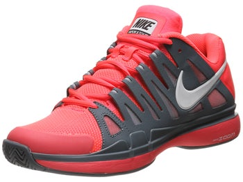 Nike Zoom Vapor 9 Tour Atomic Red/Grey Men's Shoe