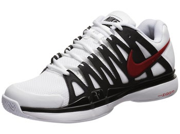 Nike Zoom Vapor 9 Tour White/Black/Red Men's Shoe