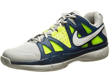 Nike Air Vapor Advantage Grey/Navy/Volt Men's Shoe