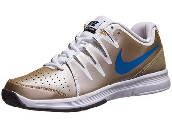 Nike Vapor Court Gold/Blue Men's Shoe