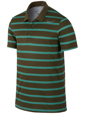 Nike Men's Winter Rally Sphere Stripe Polo