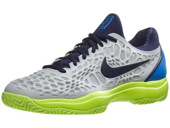 Product image of Nike Air Zoom Cage 3 Grey Lime Blue Men s Shoe 2db92406756a