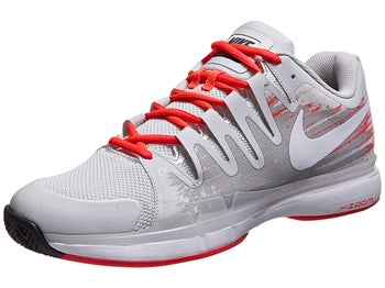 Nike Zoom Vapor 9.5 Tour Grey/Crimson Men's Shoe