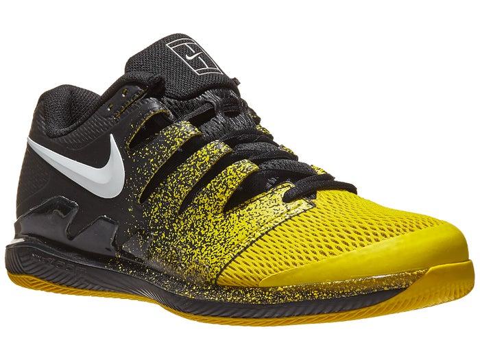 Quizás Buscar a tientas Señor  Nike Air Zoom Vapor X Black/Yellow Men's Shoe