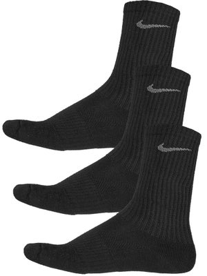 Nike Junior Crew 3-Pack Socks Black