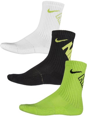 Nike Junior Graphic Crew 3-Pack Socks Multi