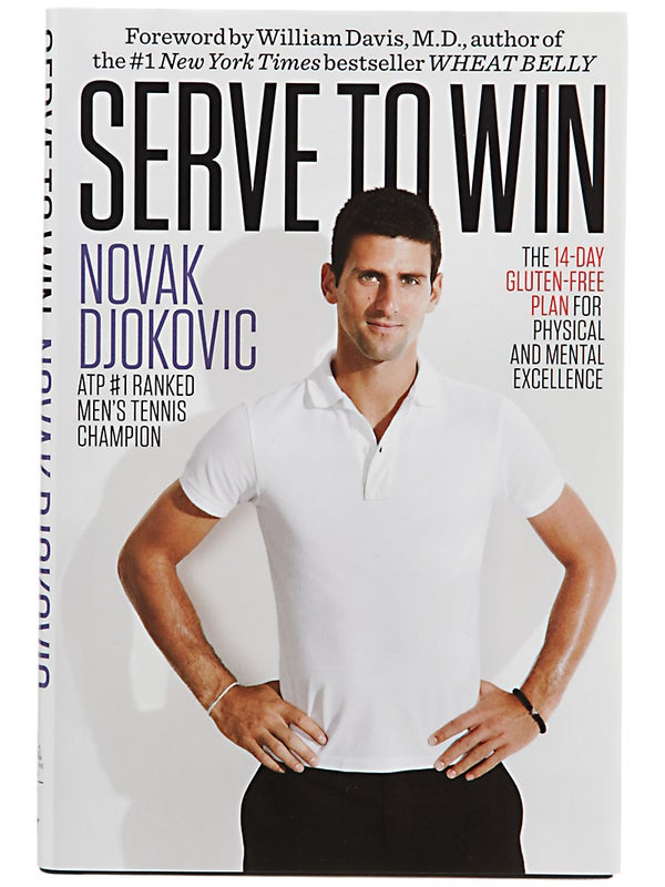 Serve To Win Novak Djokovic