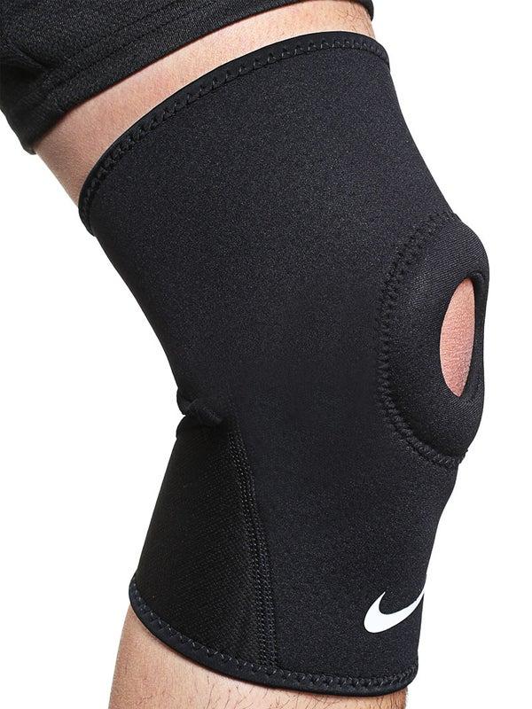 acero Universidad Capilares  Nike Pro Open Patella Knee Sleeve