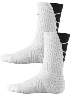 Nike Performance Crew Socks 2-Pack White/Black