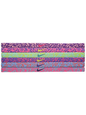 Nike Printed Hairband 6-Pack Mezzo Print
