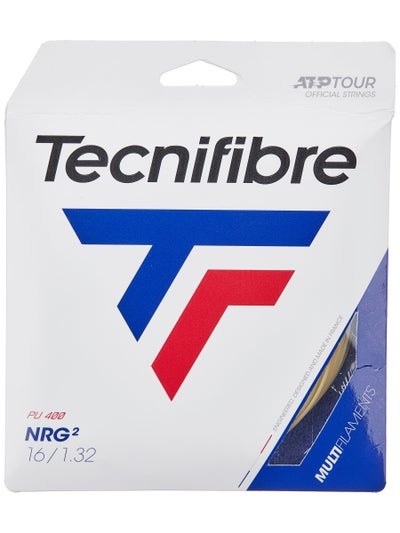 Tecnifibre NRG2 16 String 660' Black Reels