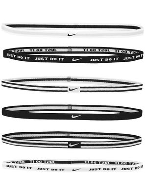 Nike Sport Hairbands 6-Pack White/Black