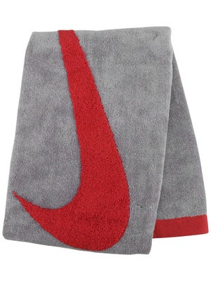 Nike Swoosh Medium Sport Towel Grey/Red
