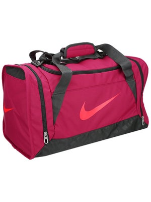 Nike Brasilia 6 Medium Duffel Bag Fuchsia