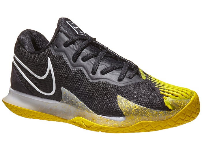 El respeto Pasto artería  Nike Air Zoom Vapor Cage 4 Black/Yellow Men's Shoe