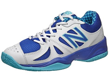 New Balance WC 696 B White/Blue Women's Shoe