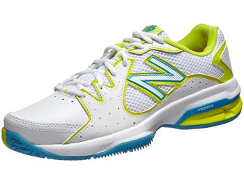 New Balance WC 786 D White/Yellow Women's Shoe