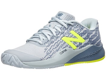 Product Image Of New Balance Wc 996v3 D Grey Yellow Women S Shoe