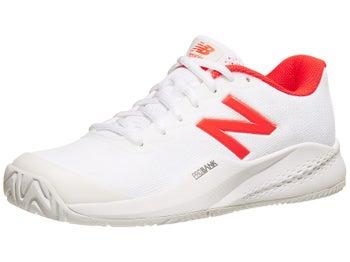 98e7688d36b9e Product image of New Balance WC 996v3 B White/Flame Women's Shoe