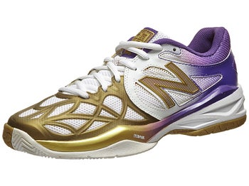 New Balance WC 996 D Purple/Gold Women's Shoe