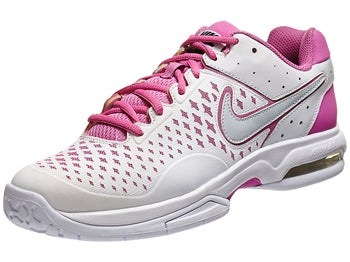 Nike Air Cage Advantage Wh/Red Violet/Gy Women's Shoe