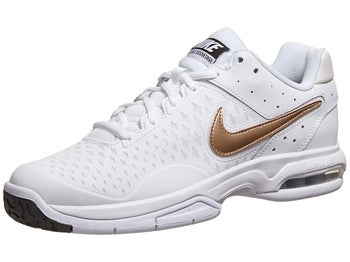Nike Air Cage Advantage White/Bronze Women's Shoe