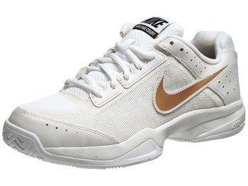 Nike Air Cage Court White/Bronze Women's Shoe